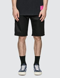 Denim By Vanquish And Fragment Cotton Chino Shorts Black