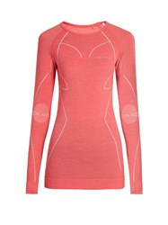 Falke Wool Tech Long Sleeved Performance T Shirt Pink