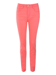 Jane Norman Coloured Skinny Jeans Pink