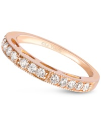 Le Vian Diamond Wedding Band 3 8 Ct. T.W. In 14K Rose Gold