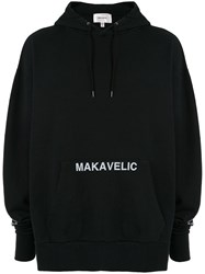 Makavelic Index Finger Hoodie Black