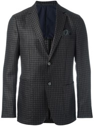 Ermenegildo Zegna Tweed Blazer Brown