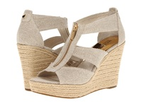 Michael Michael Kors Damita Wedge Natural Hemp Women's Wedge Shoes Taupe