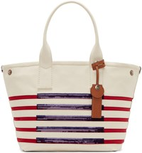 Marc By Marc Jacobs Tricolor Striped St Tropez Beach Tote