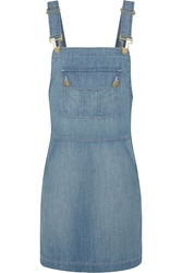 Frame Denim Le Apron Denim Mini Dress