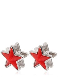 Givenchy Perspex And Metal Star Earrings
