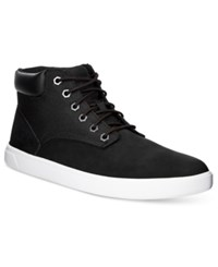 Timberland Men's Earthkeepers Groveton Hi Top Sneakers Men's Shoes Black