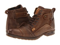 Type Z Harvey Brown Leather Men's Lace Up Boots