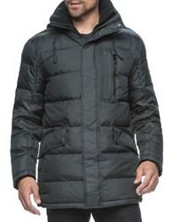 Marc New York Mashpee Down Parka Jacket Black