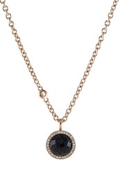 Fossil Necklace Rose Goldcoloured