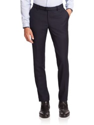 The Kooples Wool Dress Pants Dark Navy
