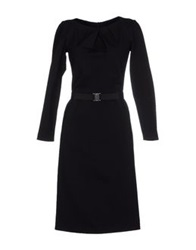 Bgn Knee Length Dresses Black
