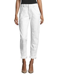 Michael Kors Relaxed Fit Carpenter Jeans White