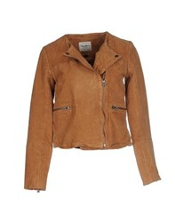 Pepe Jeans Coats And Jackets Jackets Women Camel