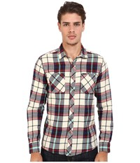 Volcom Party Train Long Sleeve Flannel Oxford Tan Men's Long Sleeve Button Up Khaki