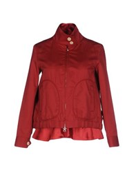 Sacai Suits And Jackets Blazers Women Red