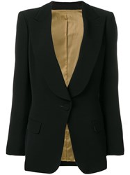 Jean Paul Gaultier Vintage Fitted Blazer Black