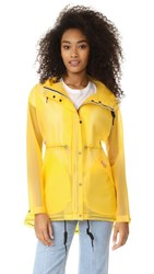 Hunter Boots Original Smock Coat Yellow