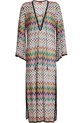 Missoni Mare Tunic With Lace Up Front