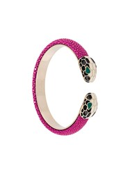 Bulgari 'Serpenti Forever' Bracelet Pink And Purple
