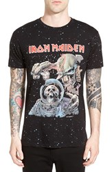 Eleven Paris Men's Elevenparis 'Iron Maiden' Graphic Crewneck T Shirt