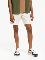John Lewis And Co. Fremont Cord Shorts White