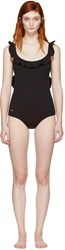 Fendi Black Magnetic Wave Swimsuit