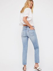 Levi's 505C Distressed Crop Jeans By At Free People