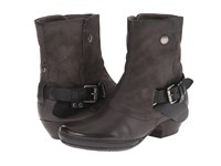 Miz Mooz Evelyn Grey Cowboy Boots Gray