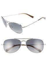 Men's Salt 'Warner' 60Mm Polarized Sunglasses Grey Grey