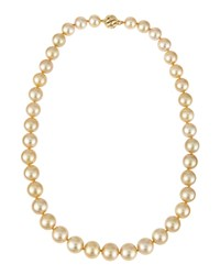 Belpearl 14K Golden South Sea Pearl Necklace