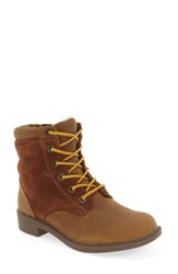 Kodiak Women's Original Waterproof Fleece Boot Caramel Leather