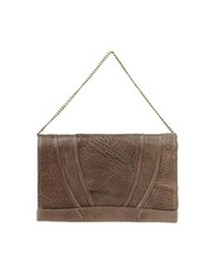 Abaco Medium Leather Bags Brown