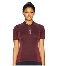 Pearl Izumi Select Escape Texture Jersey Port Twill Clothing Brown