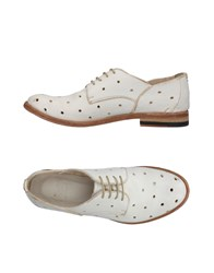 Keep Lace Up Shoes Ivory