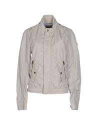 Gaudi' Coats And Jackets Jackets Women Light Grey