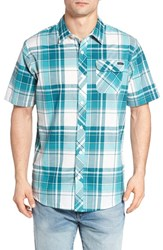 O'neill Men's Plaid Woven Shirt Ink