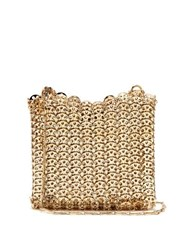 Paco Rabanne Iconic 1969 Chain Shoulder Bag Gold