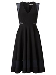 Marella Body Flared Dress Black