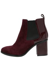 Sonia Rykiel By Ankle Boots Wine Bordeaux
