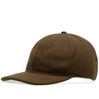 Reigning Champ 6 Panel Cap Green