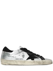 Golden Goose 10Mm Super Star Metallic Sneakers