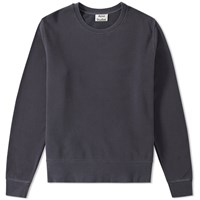 Acne Studios Casey Vintage Crew Sweat Blue