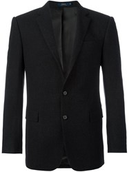 Polo Ralph Lauren Two Button Blazer Black
