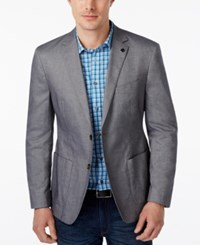 Michael Kors Men's Tailored Fit Chambray Blazer