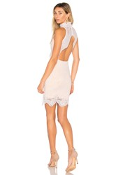 Nightcap Victorian Mini Dress White