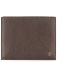 Orciani 'Valley' Billfold Wallet Brown