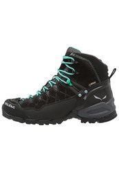 Salewa Ws Alp Trainer Mid Gtx Climbing Shoes Black Out Agata