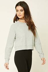 Forever 21 French Terry Knit Pullover