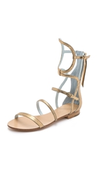 Dannijo Isla Sandals Gold